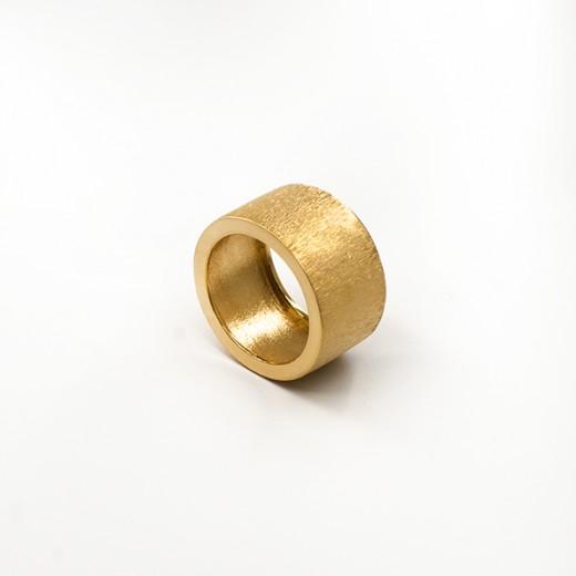 Anel Raiado-Dourado