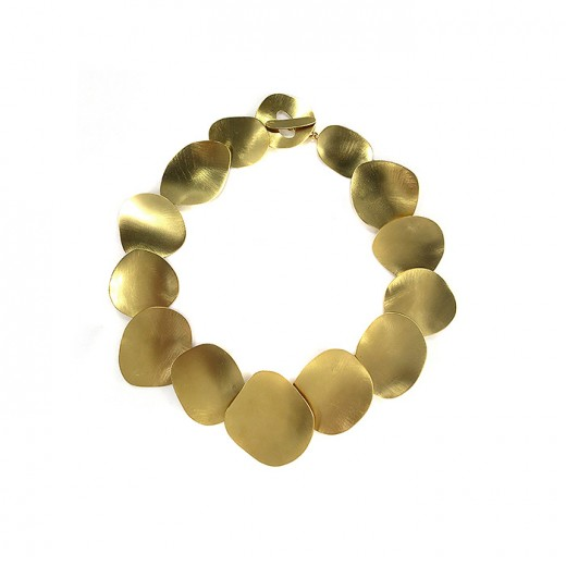 Colar Amor Perfeito - Dourado
